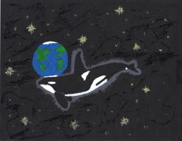 Killer whale dream by ZNwolflove