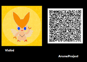 Freaky Forms Victini QR by AruneProject