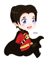 Tim Drake by twigfigs