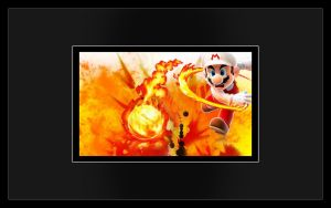 Fire Mario Design: Explode by Desidus