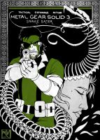 MGS3 Snake Eater Cover Redesign by ReaperClamp