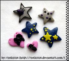 New charms by riOtkittin