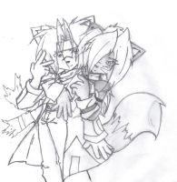 Jeremiah and Ivy a cute couple by Underworlder666
