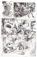 In Cinders, Page 1 Pencils by CPuglise9
