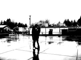 One Weather One Umbrella Two People by KillerPotatoes