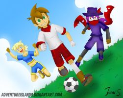 Now this is football by AdventureIslands