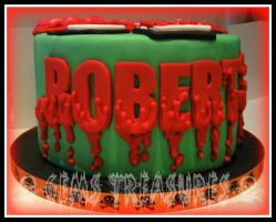 Bloody Font by gertygetsgangster