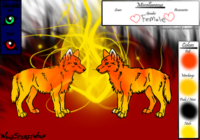 SunFire and FireBlaze by Foxstar92