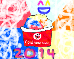 my Cold Stone Creamery ice cream 2 by conlimic000