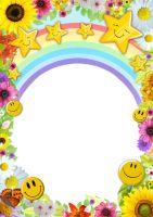 Happy Summer Photo Frame PSD by Anavrin2010