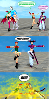 Cammy and Juri: Fusion Dance...!? by NekoHybrid