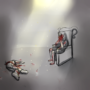 Bound:Death of a bachlor by epiclykhi