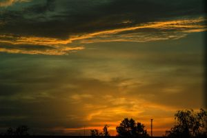 sunset by sterta
