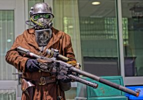 NCR Courier Cosplay by HerbstHayabusa