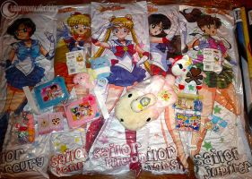 Sailor Moon and Other Toys from Anime North 2012! by onsenmochi