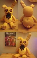 Springtrap Musical Plushie (Commission) by enigmal-insanity
