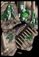 Comic Book colors by iANAR