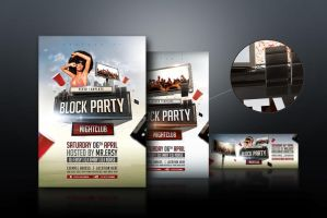 DeviantArt: More Like Block Party Flyer Template by pixelfrei