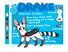 Drake ref by Magicpawed