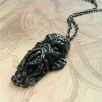 'Great Cthulhu' Necklace by CthulhuJewellery