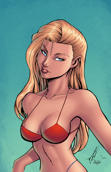 Wondergirl - Swimsuit Special by J-Skipper