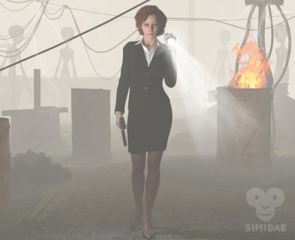 Scully by Simidae