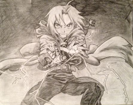 Edward Elric, the Fullmetal Alchemist by AmosZZ