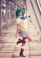 Ranka Lee . Lion Kyah! by kazenary