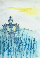 The Iron Giant by CindarellaPop