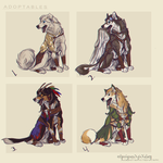 Dog Adoptables by AgentWhiteHawk