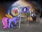 Scootaloo. Lunar adventure. by MikeWee
