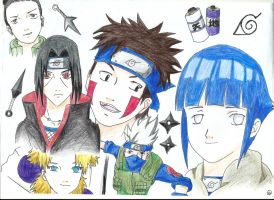 Naruto Fave Charas by Maimaicat