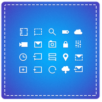 Monochromatic icons (now available) by kuvaly