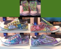 Fairy Tail Shoes by blindedera