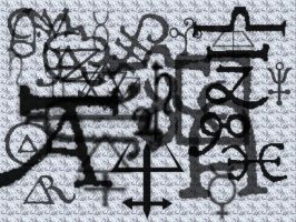 Alchemical marks-gimp version by UnendingDreamer