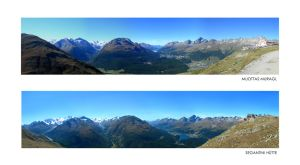 Panorama Mountains by kuschelirmel
