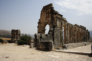 The Basilica of Volubilis III by Solrac1993