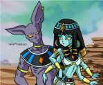 Lord Beerus meet lady Tete by naruto-warriors-oc