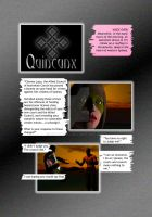 Quincunx Issue 1 Page 1 by vulpinoid
