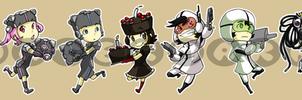 Stickers: Portal by forte-girl7