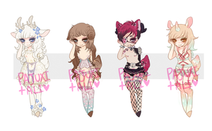Dainty customs 2 by Kiwi-adopts