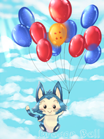 Dragon Ball - Puar Balloons by under--9000