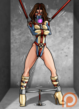 Confined Kitty Pryde (Patreon Reward) by Re-Maker