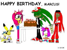 Happy Birthday, Marcus by Marcusthehedgehog