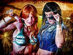 Nami And Robin by LexiStrife