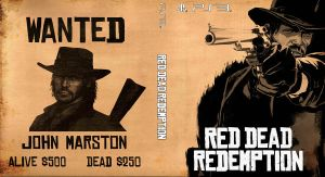 Red Dead Redemption PS3 Cover by santi-yo