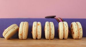 Salted Caramel Macarons by cakecrumbs