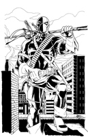 Deathstroke Commission by sean-izaakse