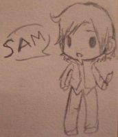 Itty-Bitty Sam Chibi by Nebulamon