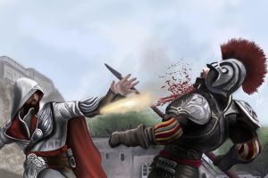 Assassins Creed Brotherhood by Airpainter13
